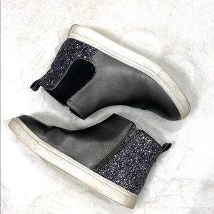Harper Canyon girls glitter back boots